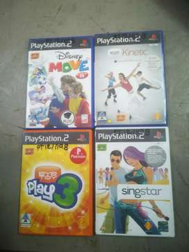 PS2 assorted games