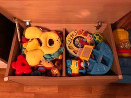Сундук игрушек от рождения до 2 лет