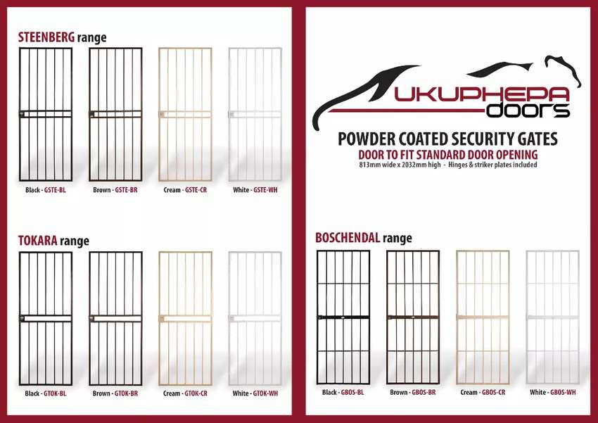 Expandable Security Gates & More 0