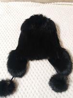 Продам меховую шапку из кролика