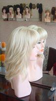Монопарик ручной работы из натуральных славянских волос
