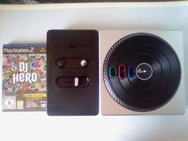 DJ Hero PS3 and PS2 Turntable