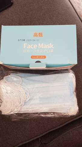 3 x ply Face Masks