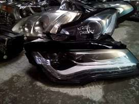 W204 facelift headlight