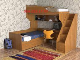 Двухъярусная кровать.Кровать чердак. Двоярусне ліжко. Детская комната
