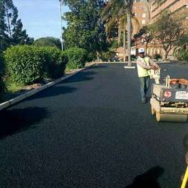 Tar surfaces/paving blocks/building and all construction services