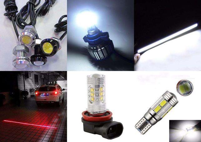 Габаритные огни T10 LED лампочка светодиодная Дневные ходовые огни ДХО Кривой Рог - изображение 7