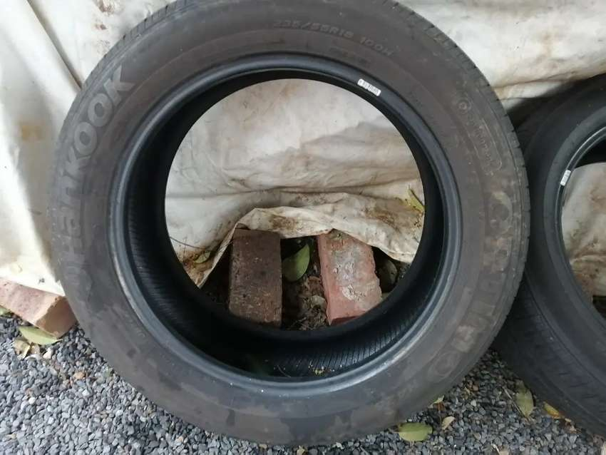 Passenger tyres for sale for the lot of 4