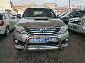 2011 Toyota Fortuner 3,0 D4D engine capacity