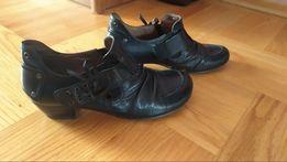 Buty trzewiki półbuty Caprice rozm. 37,5 skóra