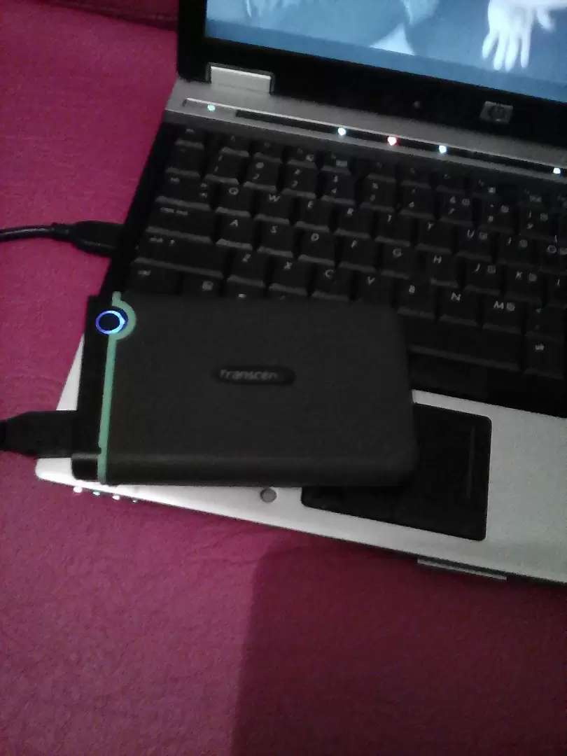 One TB Transcend External Hard Disk 0