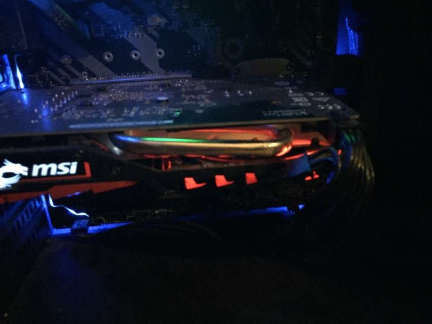 Full rgb lighting graphics card ultra high end quality for 200 fps 0
