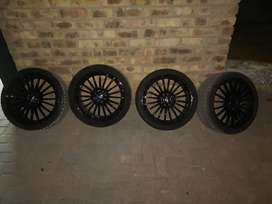 Rims and tyres
