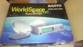 Sanyo world space receiver
