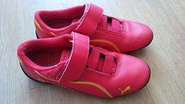 Buty adidasy puma czerwone