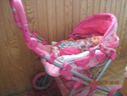 продам шикарную коляску для кукол