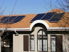 Solar  and electrical  job