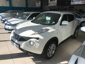 A truly beautiful 2012 Nissan Juke 1.6 Dig-T Tekna! Only R179 900!