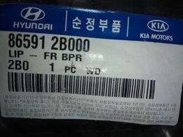 Спойлер (молдинг) бампера переднего (нижний) HYUNDAI / KIA - 865912B00