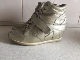 Сникерсы, кроссовки на платформе ,ботинки,Sketchers, Р 36, стелька 23