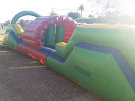 Renting out jumping castles