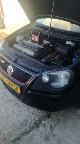 Beautiful condition Polo GTI with new 1.8T motor
