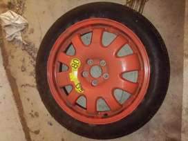 Jaguar XF spares wheel and tire (biscuit shape) for sale
