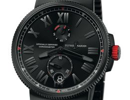 Часы Ulysse Nardin Choronometer 45mm Black Edition. Класс: ELITE.