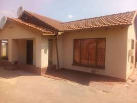 A 3 bedroom house located in a good area.