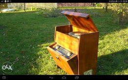 Radio z gramofonem lata 50 te idealne do przeróbki lub dla konesera