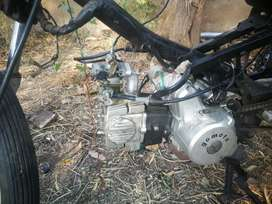 Motor not running needs work tried to build a trike but dont have time