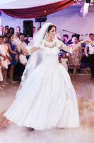 Piękna Suknia Ślubna PRINCESSA + welon + dodatki