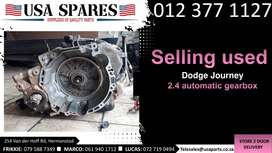 Dodge Journey 2.4* 2007-19 used auto gearbox for sale