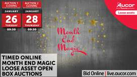 Timed Online Month End Magic Loose Asset Open Box Auctions