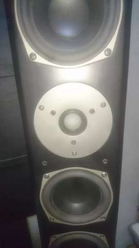 Magnat speakers and yamaha amp for sale