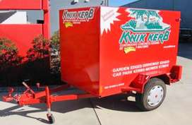 Full Ex-Kwik Kerb Concrete Machine & Accessories