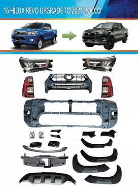 TOYOTA HILUX GD6 UPGRADE FRONT BUMPER