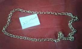 22.5 gr gold filled chain