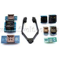 Комплект из 8 адаптеров для программаторов TL866, RT809, Willem