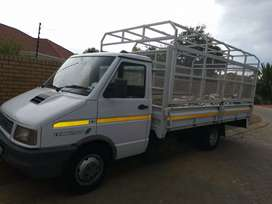 Iveco 3ton truck, good running condition with cage R50 000