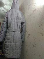 Новая зимняя курточка пальто XXL 46 размер серая