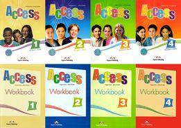 Access 1, 2, 3, 4 комплект: Student's Book + Workbook + CD