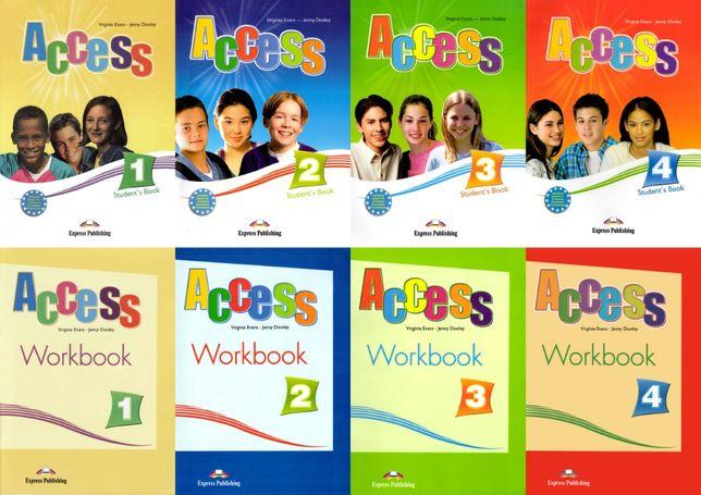 Access 1, 2, 3, 4 комплект: Student's Book + Workbook + CD Херсон - изображение 1