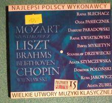 Mozart Szostakowicz Liszt Chopin Wieniawski Brahms Beethoven - CD