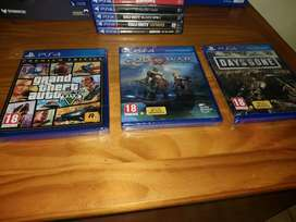 Brand New - Sealed: Playstation 4 Games