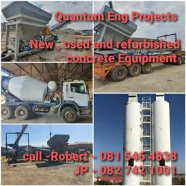 Concrete Equipment manufacturing and refurbishing of Equipment