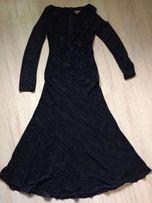 Платье вечернее черное 48 размер