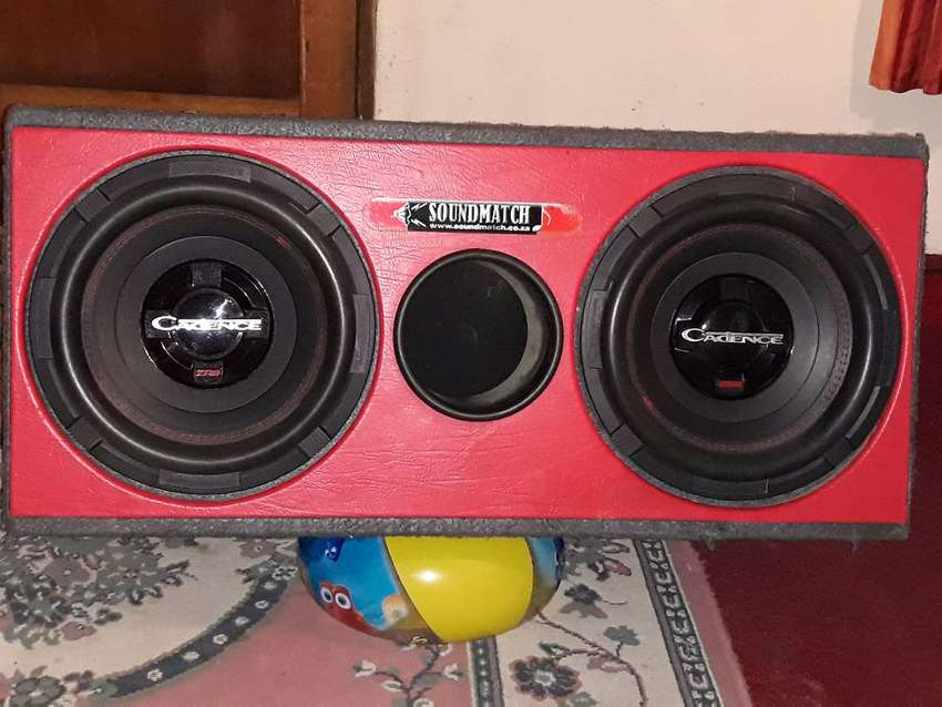 2 x  Cadence 12' subwoofers 0