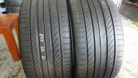 Two seconds hand tyres sizes 295/35/21 continental normal now availabl