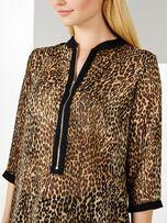 Jak nowa elegancka koszula panterka zwierzęcy wzór zamek Mohito 38 M